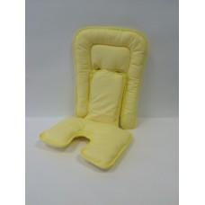 Вкладыш-матрасик на стульчик, коляску, автокресло