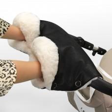 Муфта Esspero Gentle Leatherette для рук на коляску