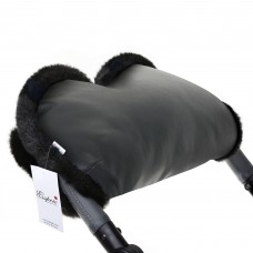 Муфта Esspero LIT Leatherette для рук на коляску (эко кожа)