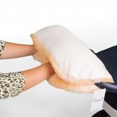 Муфта Esspero Diaz для рук на коляску (Натуральная шерсть)